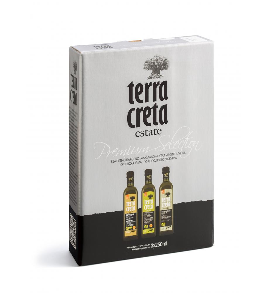 Terra Creta Estate Olivenöl Geschenkbox