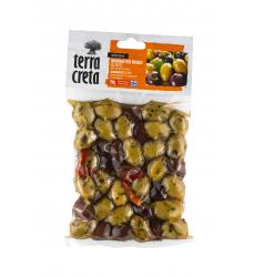 marinierte Mix Oliven Vakuum Terra Creta